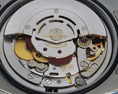relógio eta - modelo explorer i preto arf aço 904l - sh3132