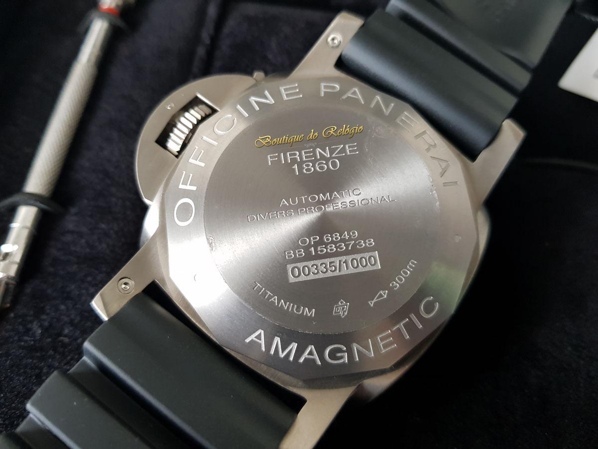 0920fca8e18 relógio eta modelo submersible 1950 3 days amagnetic pam389. Carregando zoom .