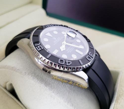 relógio eta - modelo yacht-master baselworld 2019 noob 42mm
