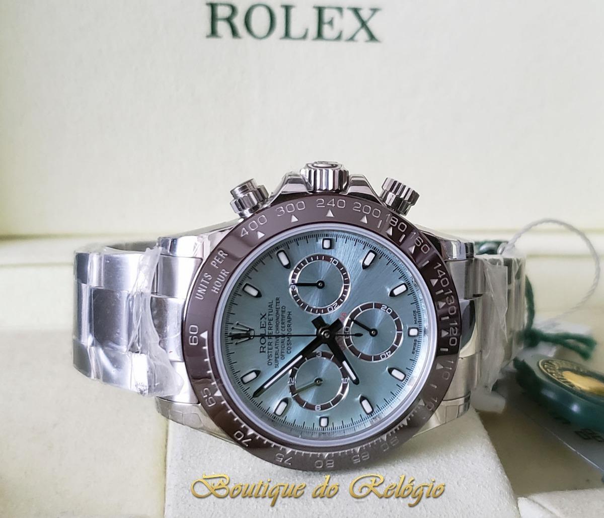 af461856832 Relógio Eta Novo - Modelo Daytona Ice Blue - Jh Best A4130 - R ...