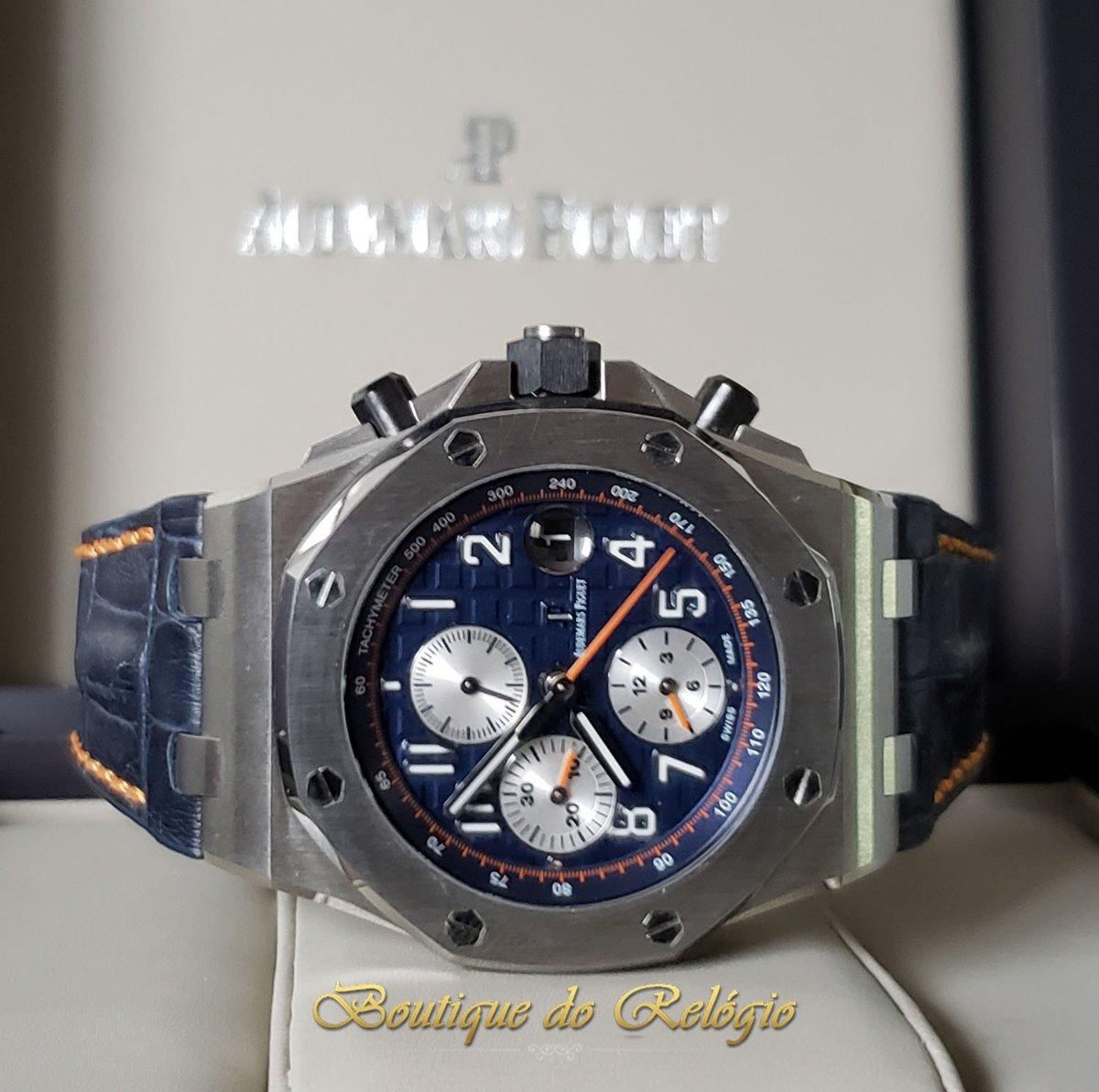 ab588d67b Relógio Eta Valjoux Modelo Ap Roo Navy Blue Jf Best V2- 42mm - R ...