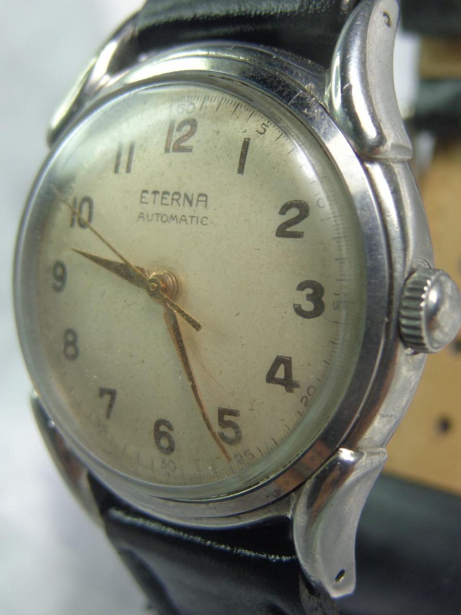 e7e8f64a045 Relógio Eterna Bumper 1158h De 1945 Garantia Relógiodovovô. - R ...