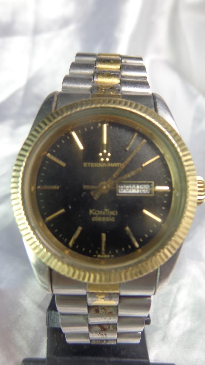6e7e16b5e2b relógio eterna-matic kontik classic 12670 relogiodovovô. Carregando zoom.