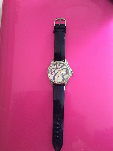 relógio euro com strass