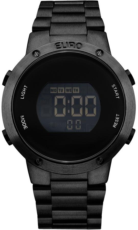 51a3ae92002 relógio euro digital preto eubj3279ab 4p sabrina sato. Carregando zoom.