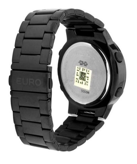 ec1d202212f Relógio Euro Digital Preto Eubj3279ab 4p Sabrina Sato - R  239