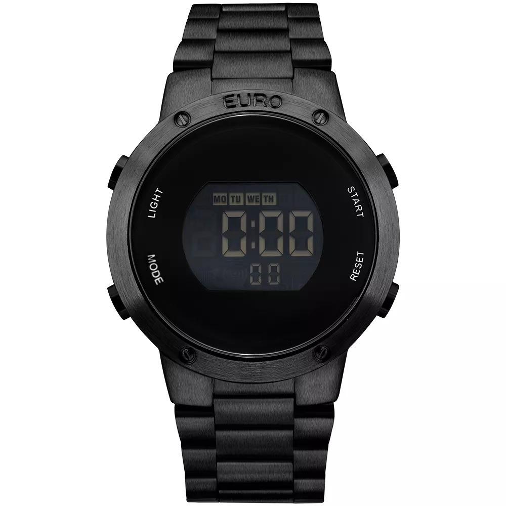 dce917a6b96 relógio euro digital preto eubj3279ab 4p sabrina sato c  nf. Carregando zoom .