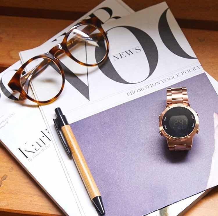 6287c6f993eb4 Relógio Euro Digital Rose Gold Eubj3279af 4j Fashion Fit - R  239,90 ...