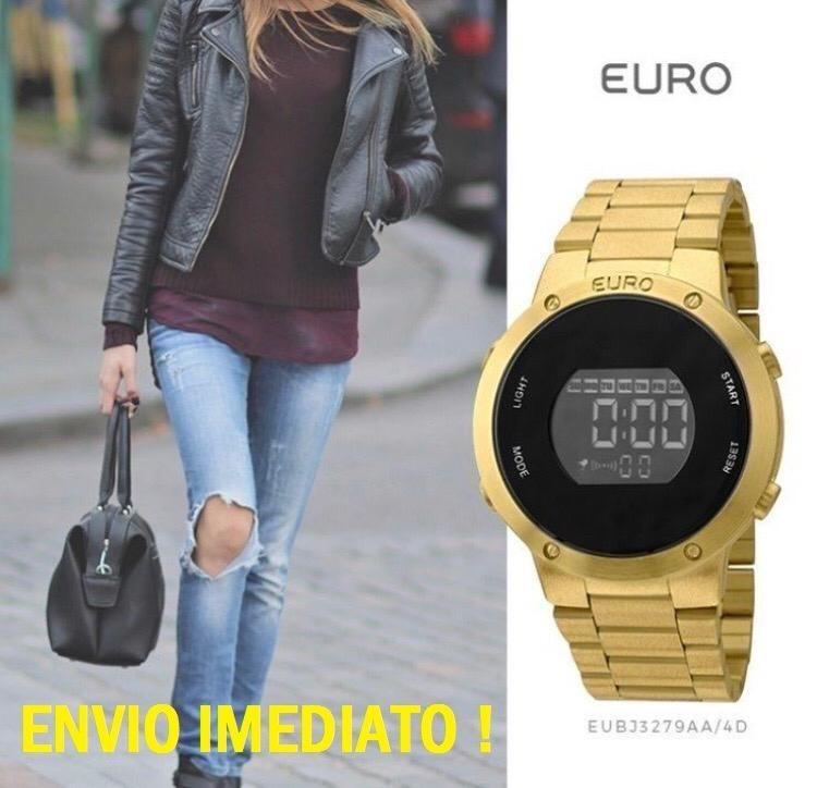 074be318bf2 Relógio Euro Fashion Fit Eubj3279aa 4d Dourado Sabrina Sato - R  238 ...