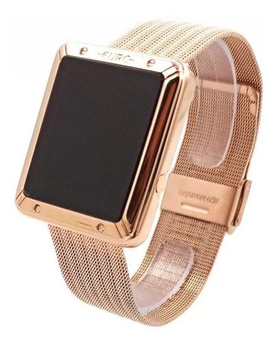 relógio euro fashion fit touch rose eubj3937ab-4f original