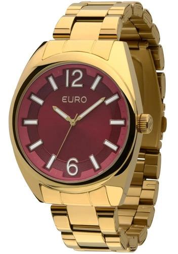 relogio euro feminino dourado eu2035xzj/4r