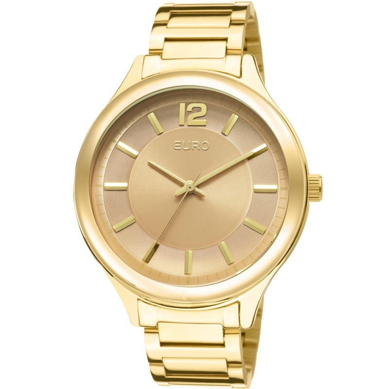 48a19d9eb21 relógio euro feminino dourado original promoção eu2035lqy 4m. Carregando  zoom.