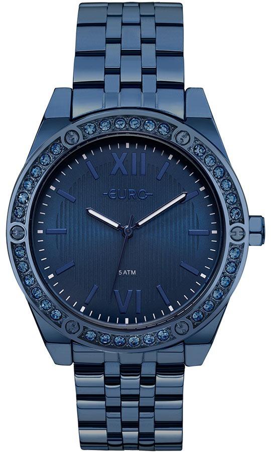 7079af73810 Relogio Euro Feminino Eu2035ynp 4a Azul Lançamento - R  368