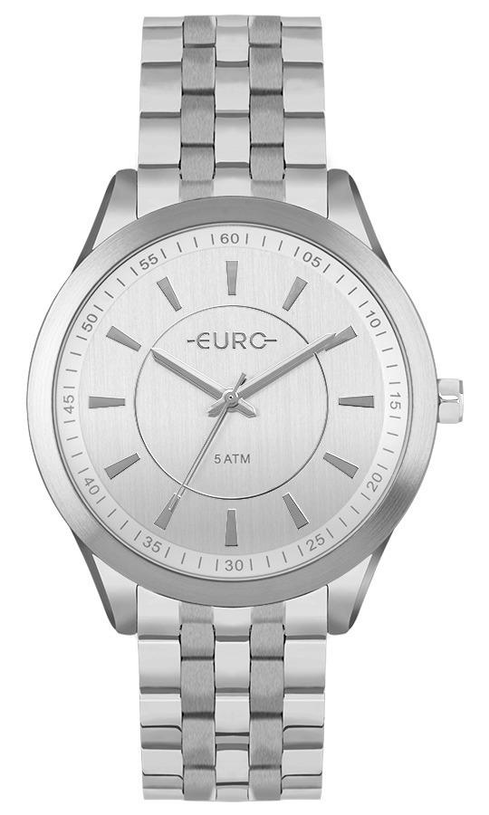 510eae12c34 Relogio Euro Feminino Eu2035you 3k Prata Analogico Oferta - R  268 ...