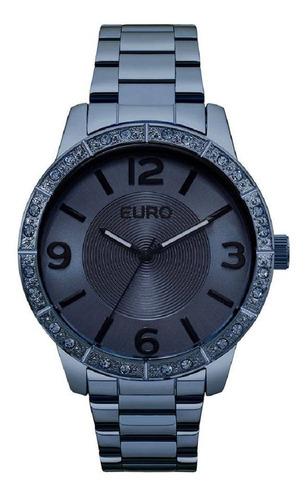 relogio euro feminino eu2036ylr/4a azul