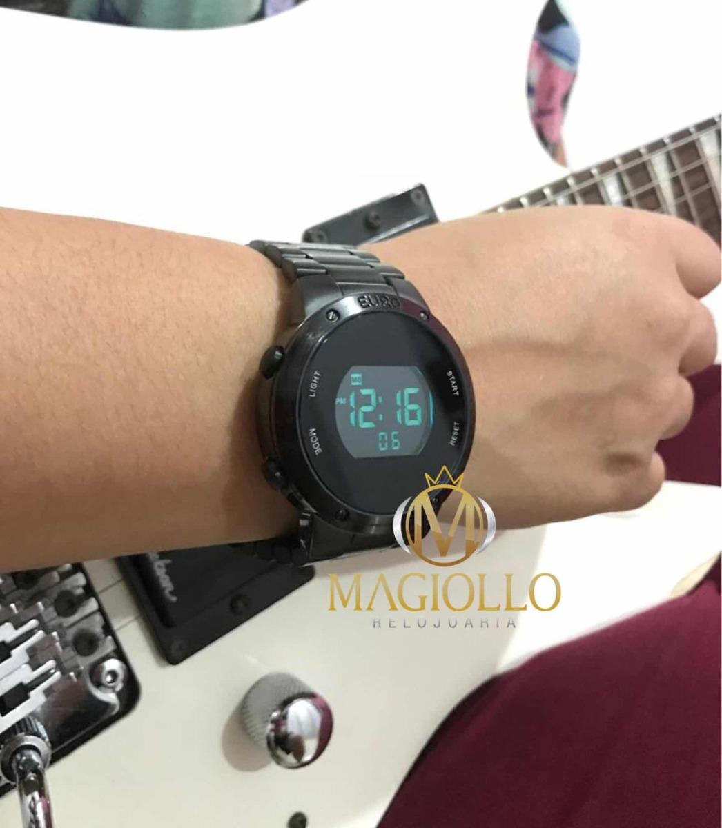 4274decac43 Relógio Euro Feminino Eubj3279ab 4p Preto Digital Sabrina S - R  269 ...