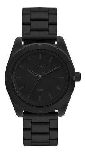 relógio euro feminino ref: eu2036ynx/4p preto fosco
