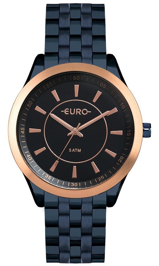 Relogio Euro Feminino Slim Eu2035yox 4a Azul Rose Oferta - R  318,90 em  Mercado Livre d8cf432bb9