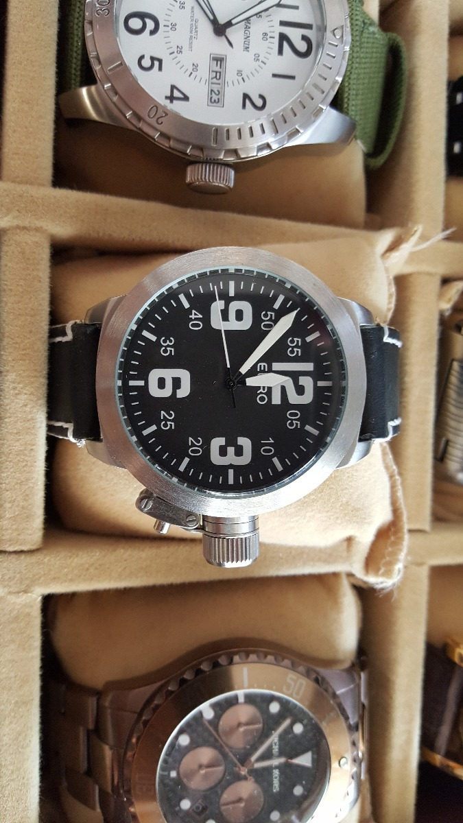 3e8c3943a55 relógio euro masculino. Carregando zoom.