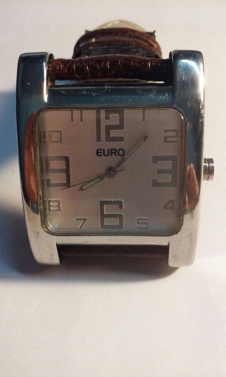 4f7350adc5c Relogio Euro Masculino Quadrado - R  188
