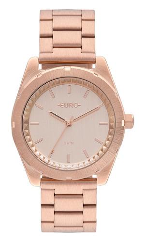 relógio euro rose feminino analógico eu2036ynv/4j