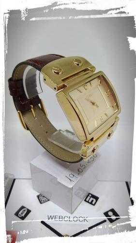relógio euro t05230 feminino quartz webclock