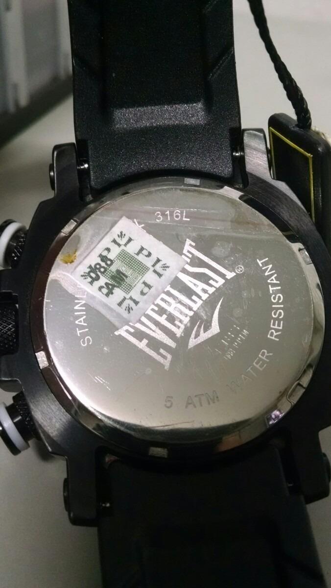 d38cba784b9 Relógio Everlast Masculino E183 1 Ano De Gar Nf - R  1.089