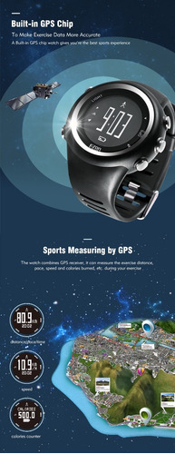 relógio ezon t031 gps a pronta entrega original promoção