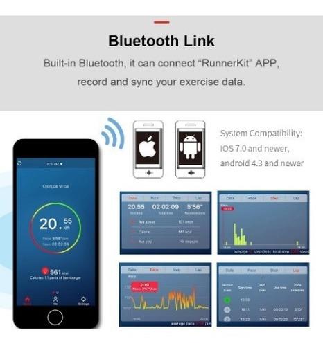 relógio ezon t907 /gps-bluetooth-sensor philips