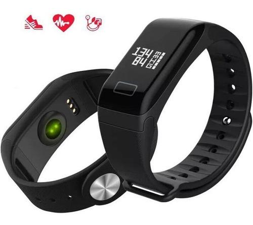 relogio f1 smartband monitor cardiaco pressao arterial design moderno pulseira inteligente