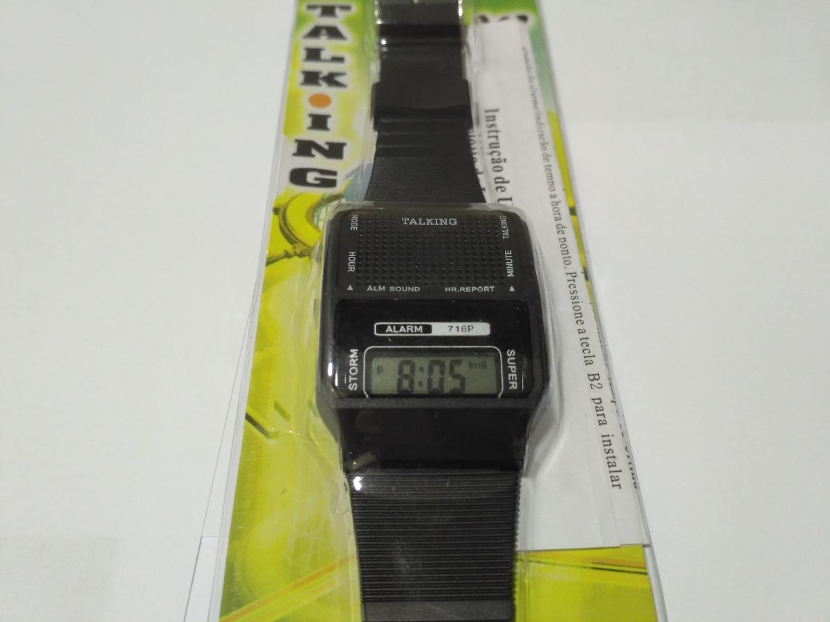 a56ac827382 relógio fala hora portugues bom p  deficiente visual e idoso. Carregando  zoom.