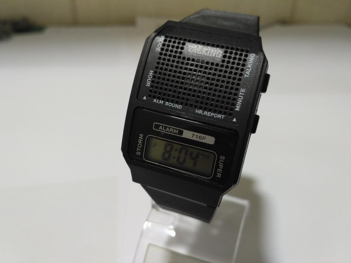 589e0c97db4 relógio fala hora portugues bom p  deficiente visual e idoso. Carregando  zoom.