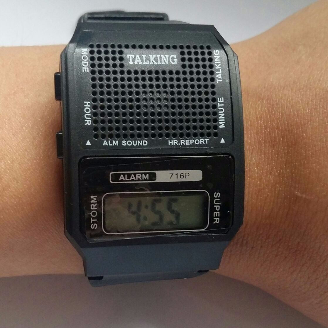 370dda67b78 relógio fala hora portugues deficiente visual e idoso. Carregando zoom.