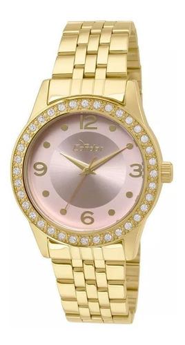 relógio fem condor co2035kox/k4t dourado c/ n f + garantia