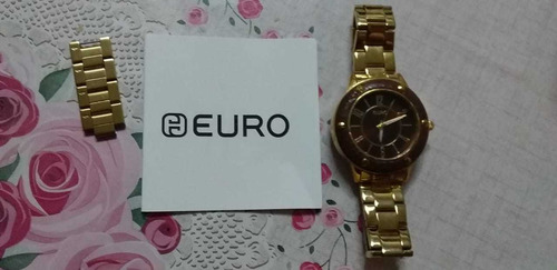 relógio femimino euro original semi novo