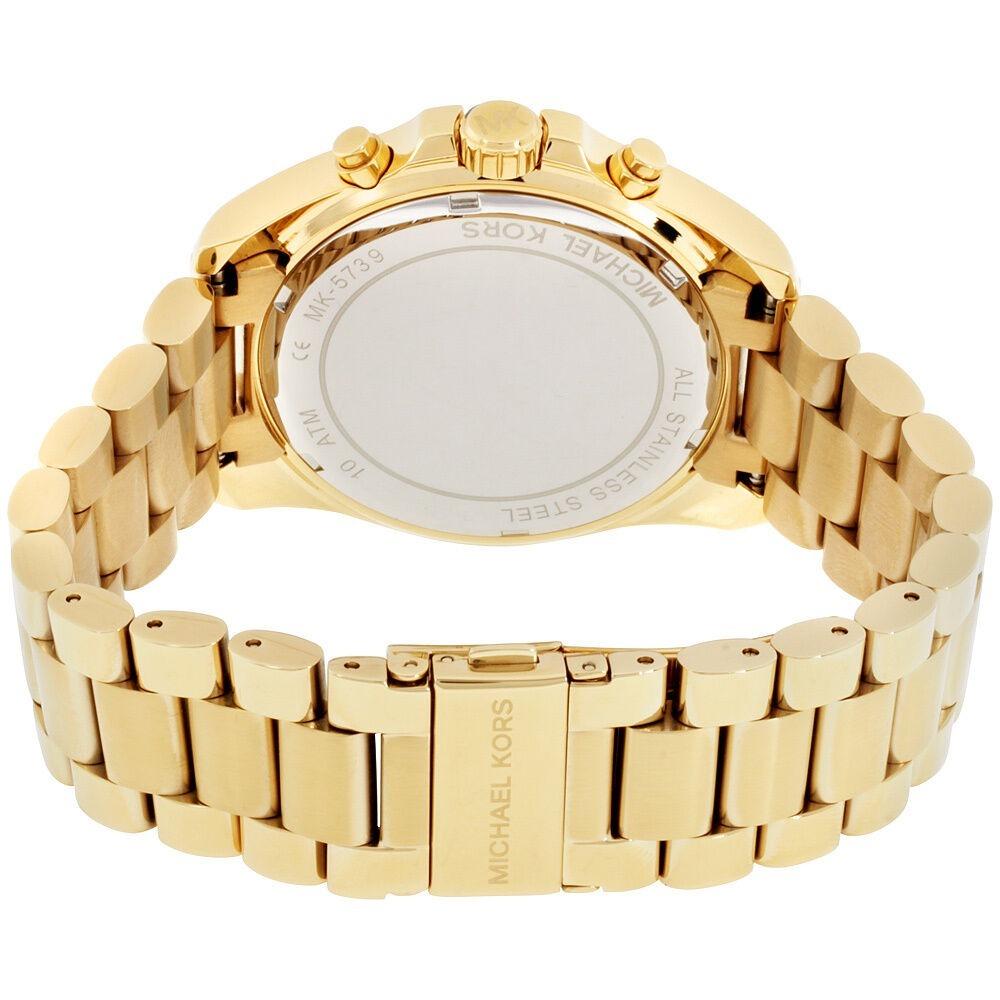 a92caea41d9 relógio feminino 5739 dourado fundo preto com caixa original. Carregando  zoom.