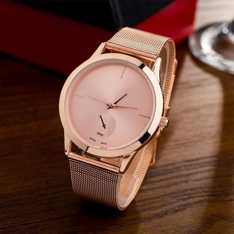 668a2ce6563 relógio feminino aço inox barato luxo pronta entrega cores. Carregando zoom.