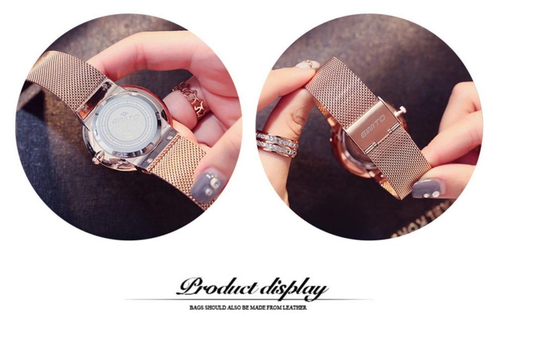 9c41bd2aa1788 relógio feminino aço inoxidável exclusivo pronta entrega !!! Carregando  zoom.