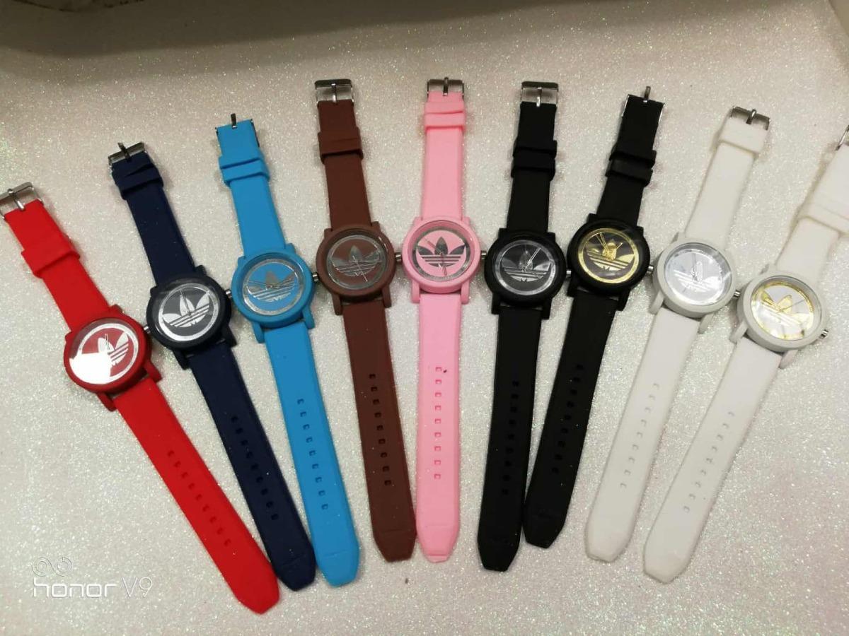 00e38e1b4a1 Kit 15 Relógio Feminino adidas Varias Cores Promoção!!!! - R  175