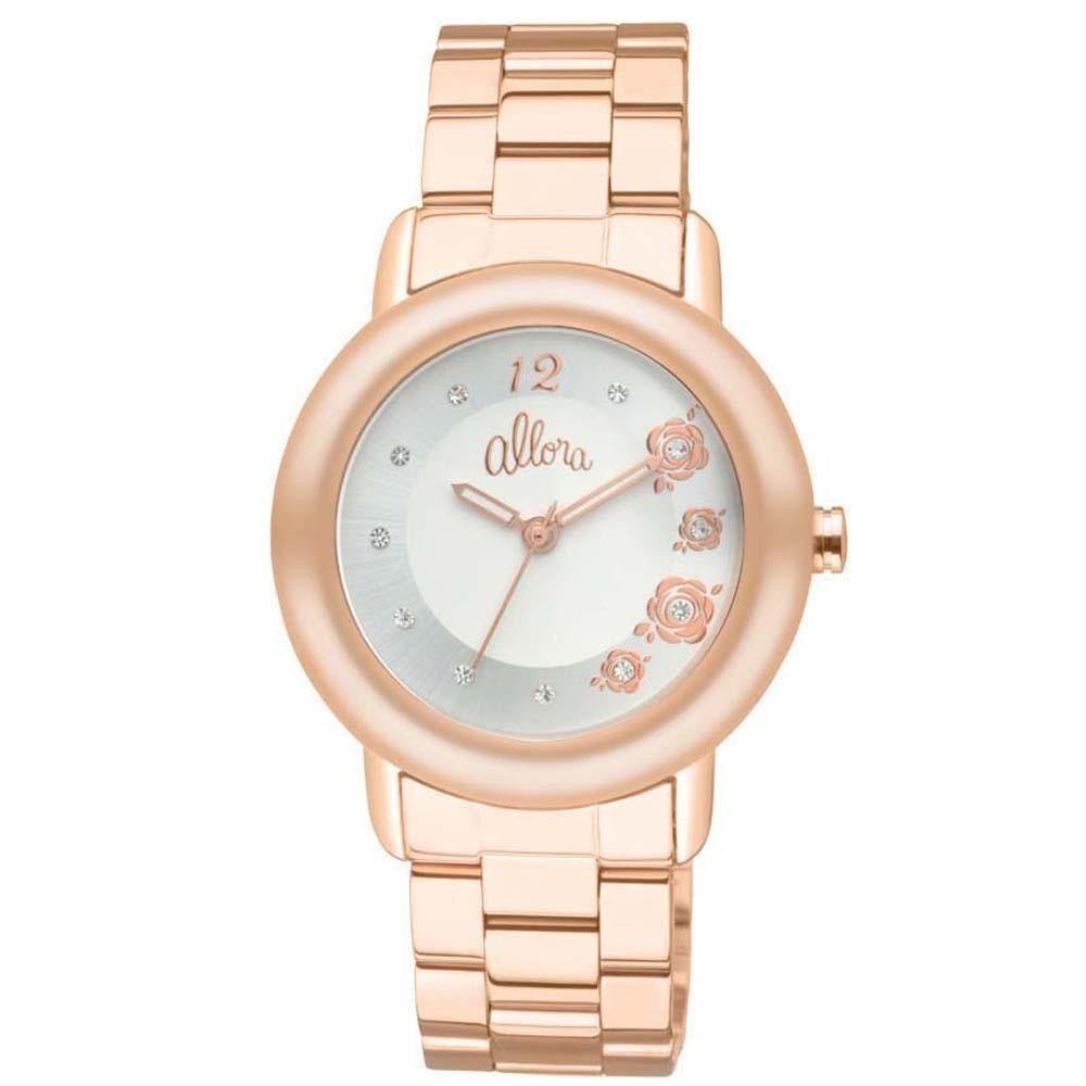 540126cc959 Relógio Feminino Analógico Allora ¿ Rose Gold - R  119
