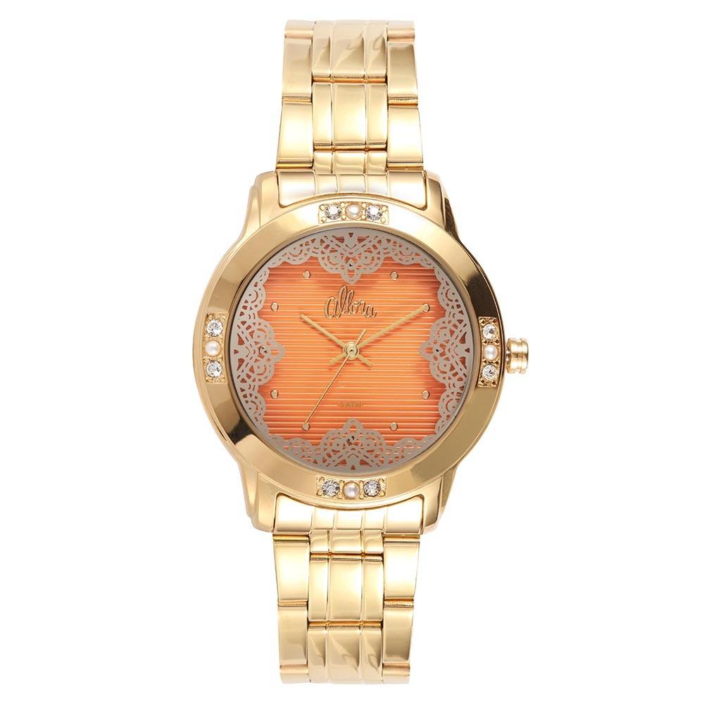 255cc328ec6 Relógio Feminino Allora Analógico Al2035fgh 4l - R  99