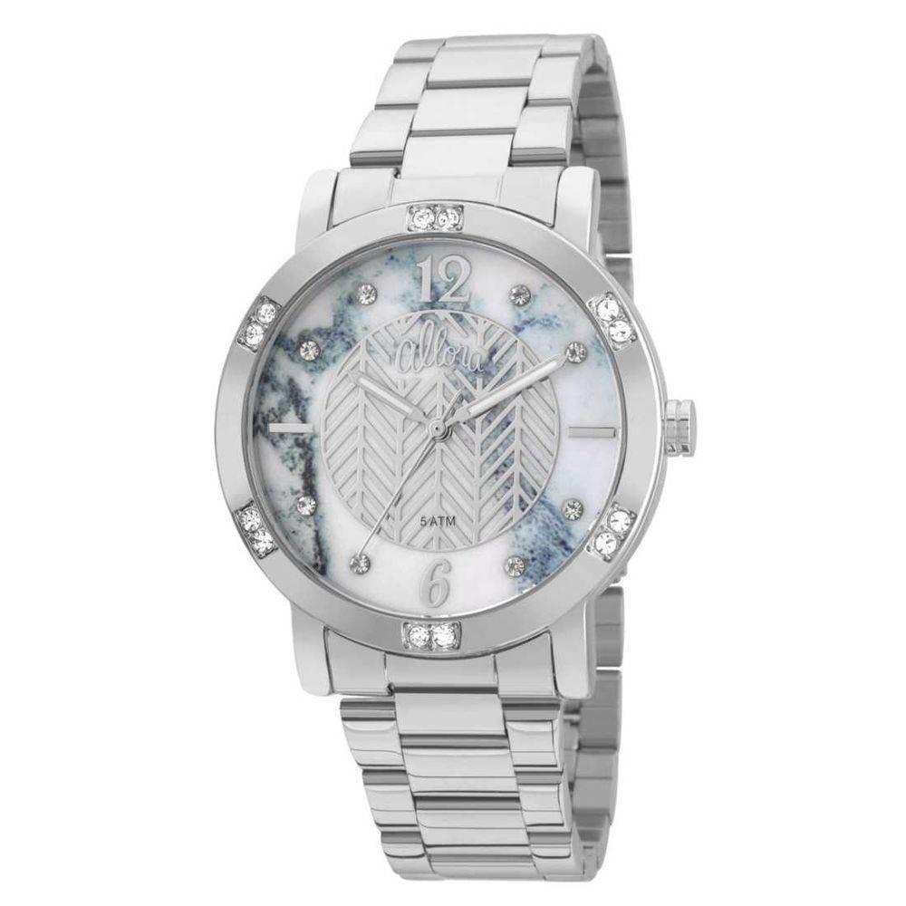 52e3b53785ca4 Relógio Feminino Allora Analógico Al2036flk 3a - Prata - R  189,90 ...