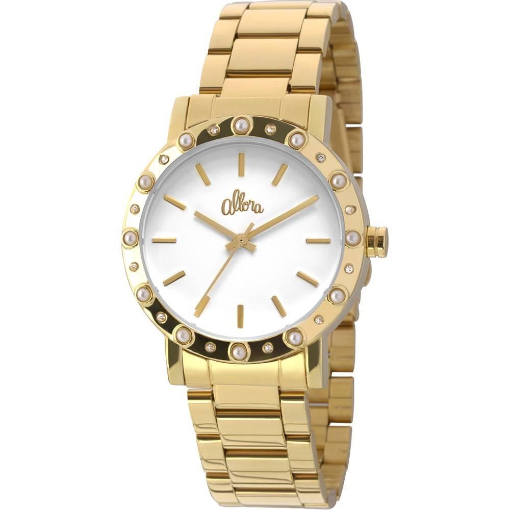 0ce5866d98f relógio feminino allora analógico al2035ezs4b - dourado. Carregando zoom.