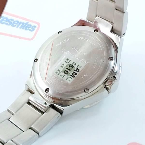 34ea5e59eff relógio feminino ana hickmann prateado swarovski ah30193q · relógio  feminino ana