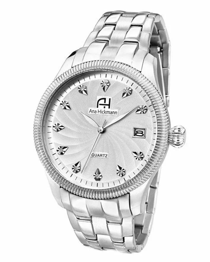 1c9b4c51b relógio feminino ana hickmann aço prata original ah28928q. Carregando zoom.