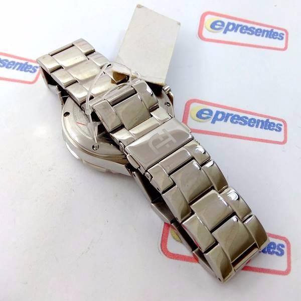 1f6aeedaa75 Relógio Feminino Ana Hickmann Prateado Swarovski Ah30193q - R  659 ...