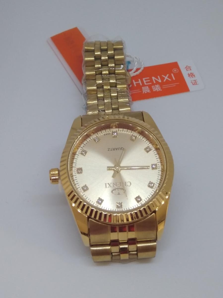780ae419911 relógio feminino analógico chenxi original inox + brinde!!!! Carregando zoom .