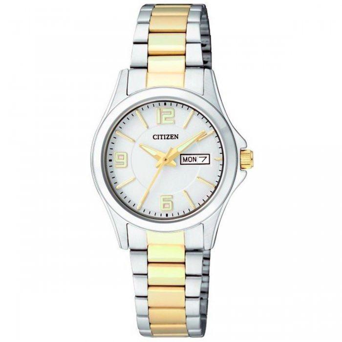 11870322fd9 Relógio Feminino Analógico Citizen Tz28413b - Prata dourado - R  499 ...