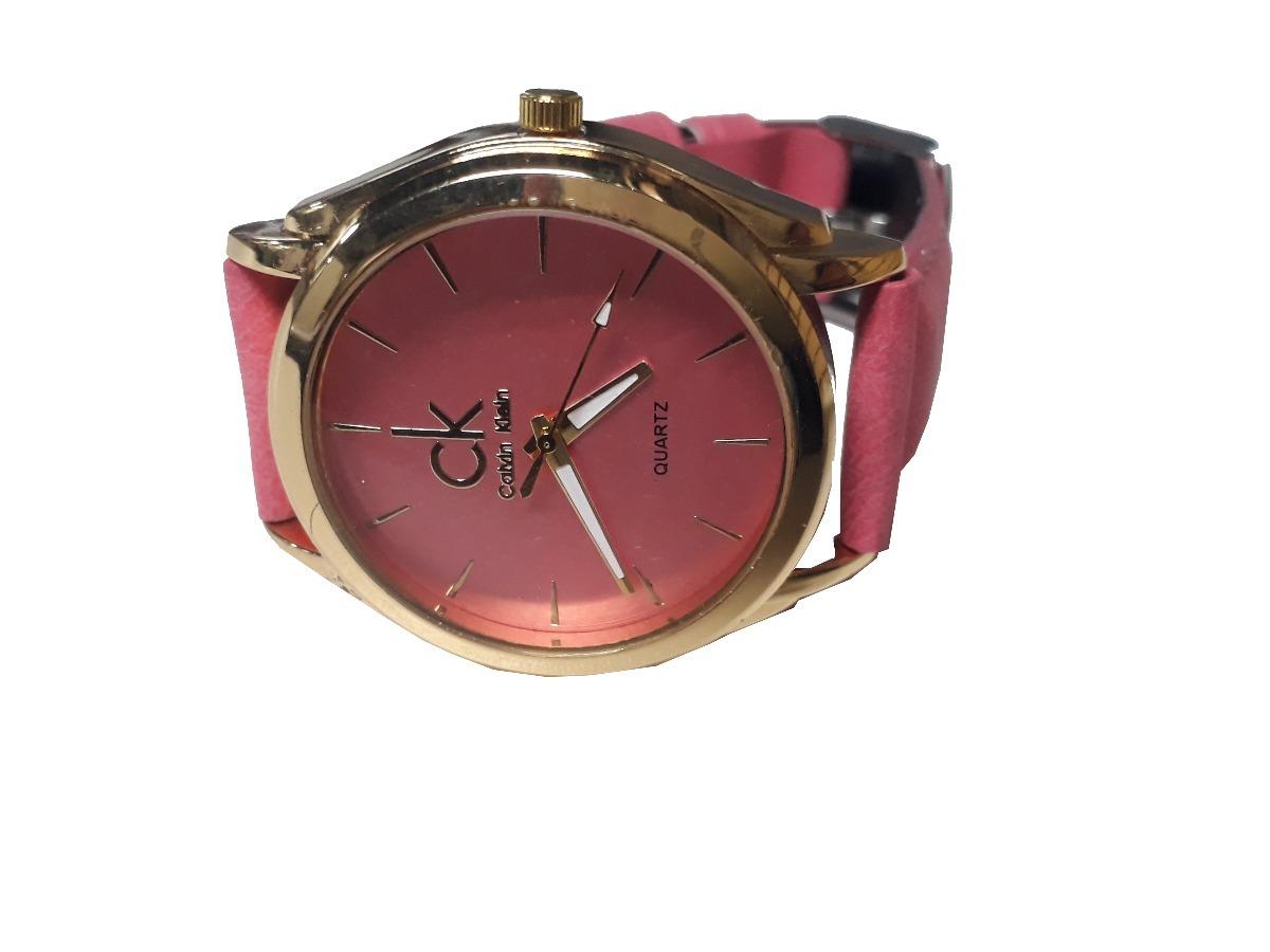 0bf09696578 relógio feminino analógico couro sintetico cores. Carregando zoom.
