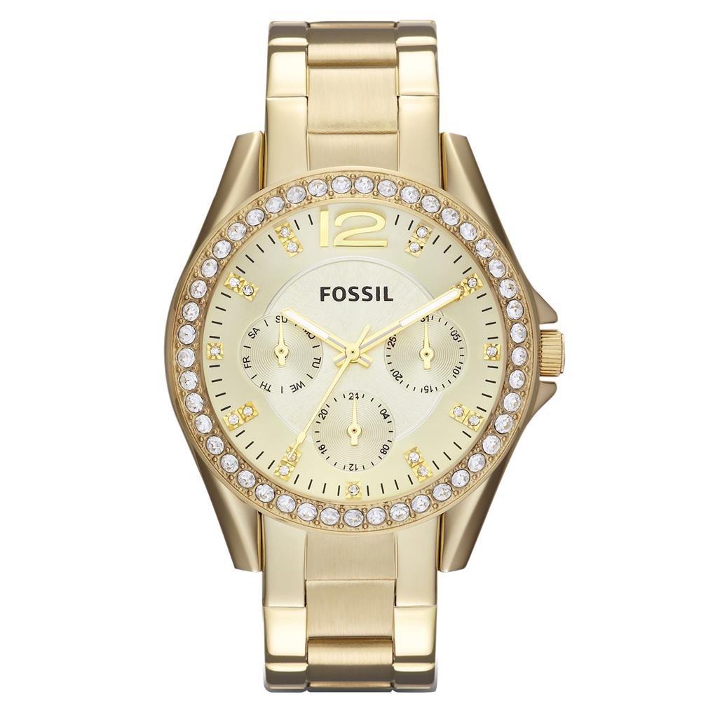7e9ae835603 relógio feminino analógico fossil es3203 4dn dourado. Carregando zoom.